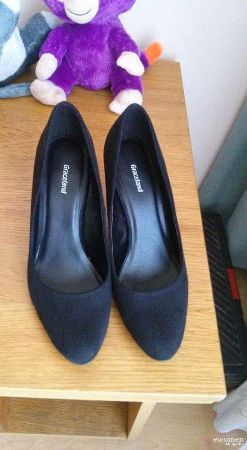 40 es fekete női alkalmi cipő eWomen Shopping