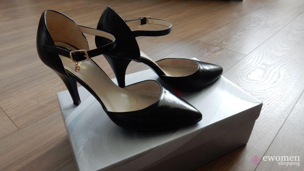 Fekete alkalmi cipő eWomen Shopping